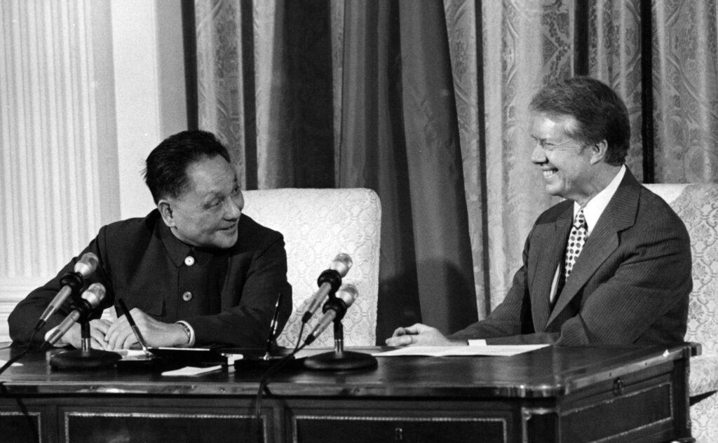 Deng Xiaoping e il Presidente Carter