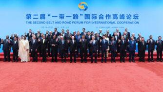 Xi Jinping al secondo forum internazionale dell'iniziativa Belt and Road